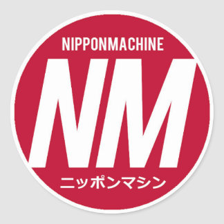 Autocollants de Nipponmachine