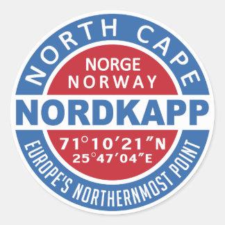 Autocollants de NORDKAPP Norvège