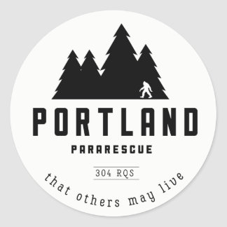 Autocollants de Pararescue de Portland