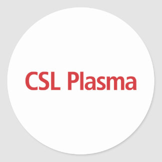 Autocollants de plasma de CSL