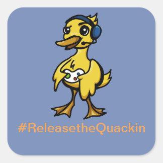 Autocollants de Quackin