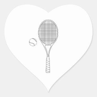 Raquette de tennis autocollants stickers raquette de tennis - Dessin raquette ...
