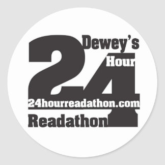 Autocollants de Readathon de Dewey