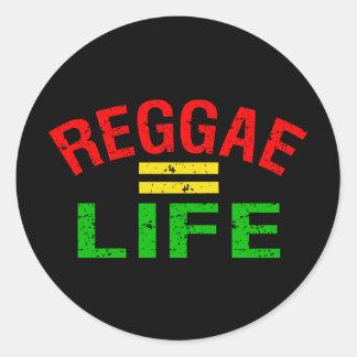 Autocollants de reggae
