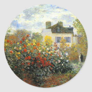 Autocollants de roseraie de Monet