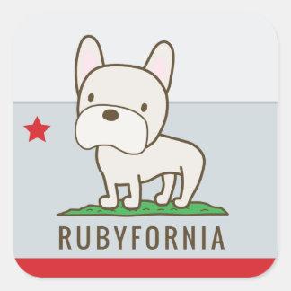Autocollants de Rubyfornia