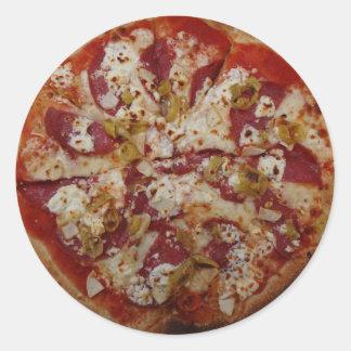Autocollants de Rustica de pizza