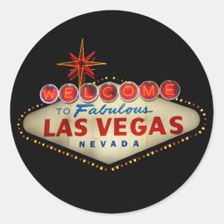 Autocollants de signe de Las Vegas