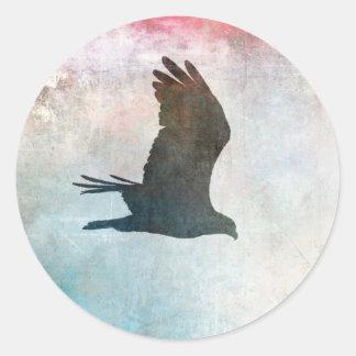 Autocollants de silhouette de balbuzard