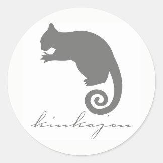 Autocollants de silhouette de Kinkajou