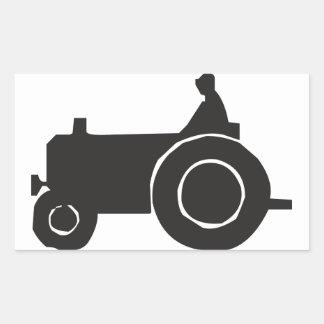Autocollants de silhouette de tracteur