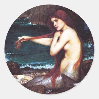 Autocollants de sirène de John William Waterhouse