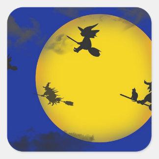 Autocollants de sorcières de Halloween