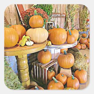 Autocollants de support d'automne de Halloween de