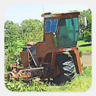 Autocollants de tracteur de ferme de Midwest d'art