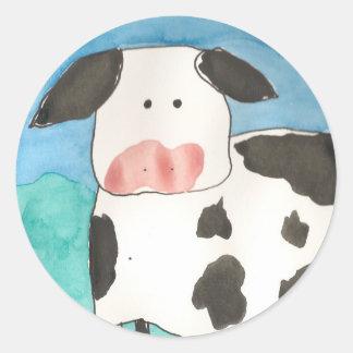 Autocollants de vache