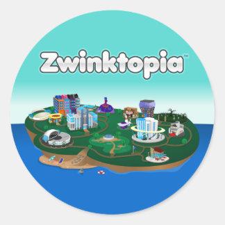 Autocollants de Zwinktopia