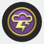 Autocollants d'école de la tempête Wizard101