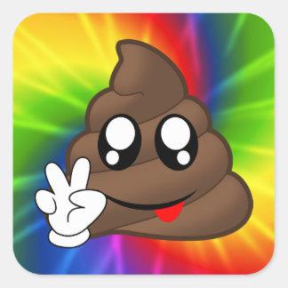 Autocollants d'Emoji de dunette de signe de paix
