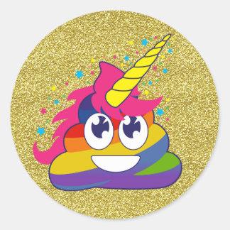 Autocollants d'Emoji de licorne de dunette
