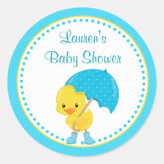 Autocollants d'étiquette de faveur de baby shower