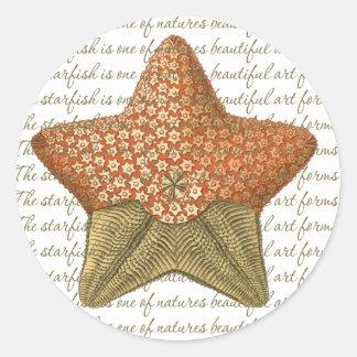 Autocollants d'étoiles de mer