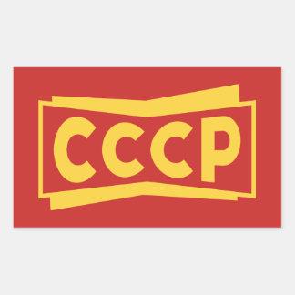 Autocollants d'insigne de CCCP