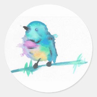 Autocollants d'oiseau