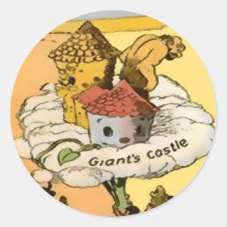 Autocollants du château du géant (dans 8 formes, 2