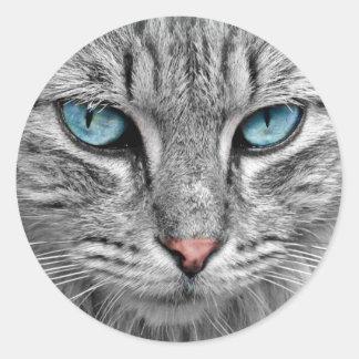 Autocollants d'yeux bleus