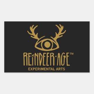Autocollants expérimentaux de logo d'arts d'âge de