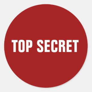 Autocollants extrêmement secrets