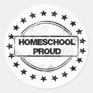 Autocollants fiers de Homeschool