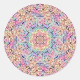 Autocollants hippies de motif, 7 formes