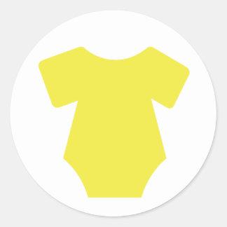 Autocollants jaunes d'équipement