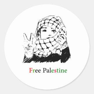 Autocollants libres de la Palestine