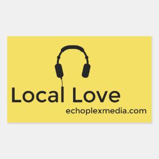 Autocollants locaux d'amour !