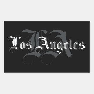 Autocollants Los Angeles Blackletters