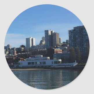 Autocollants maritimes de musée de San Francisco