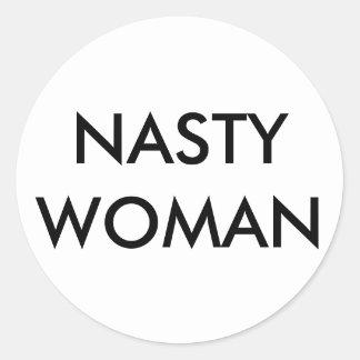 Autocollants MÉCHANTS de FEMME