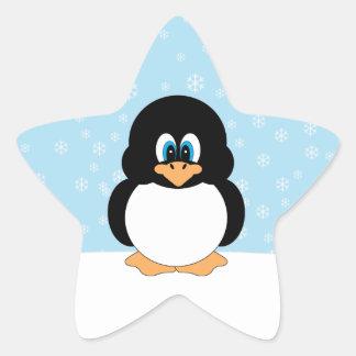 Autocollants mignons de pingouin
