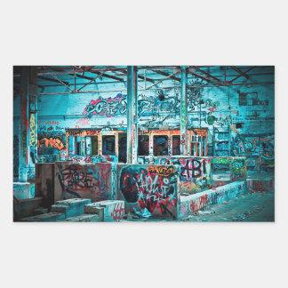 Autocollants muraux de mur de briques de graffiti