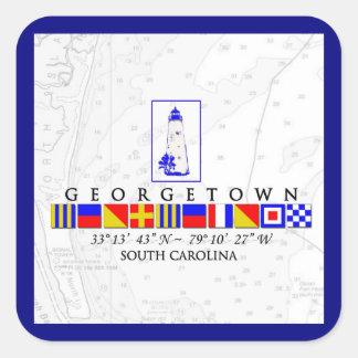 Autocollants nautiques de Georgetown la Caroline