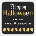 Autocollants nommés personnalisés de Halloween