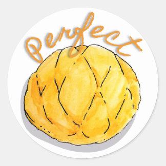 Autocollants parfaits de melon de pain japonais de