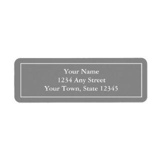 autocollants Pré-imprimés d'étiquette de adresse