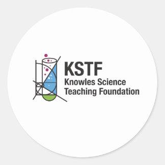 Autocollants ronds de KSTF