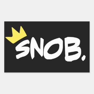 Autocollants snobs