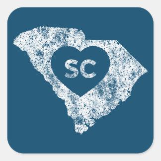 Autocollants utilisés d'état de la Caroline du Sud