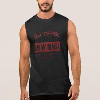 Autodéfense Krav Maga T-shirt Sans Manches